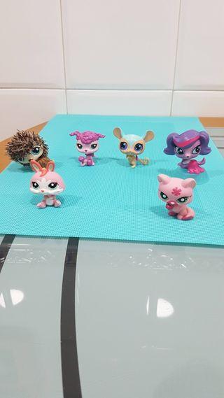 Littlest Pet Shop ( 6 Muñecos)
