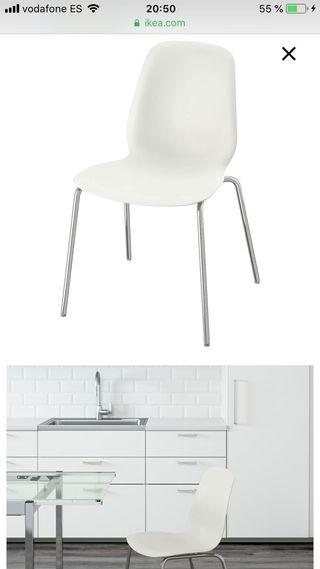 Sillas de cocina Ikea de segunda mano en WALLAPOP
