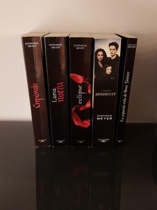 colección de libros Crepúsculo