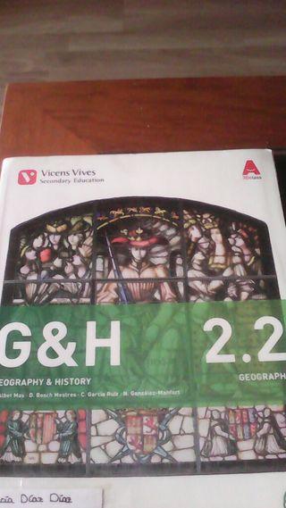 Libros de geografía e historia en ingles(Herrera)