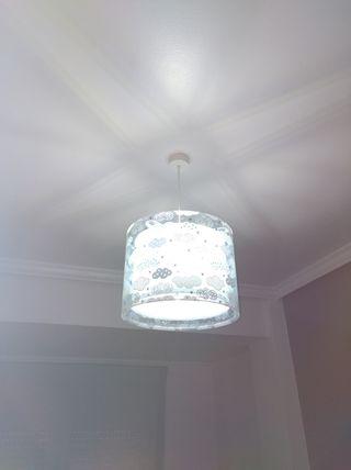 conjunto lamparas cuarto niño