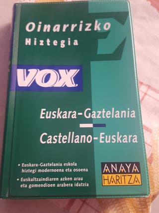 Diccionario Castellano-Euskera