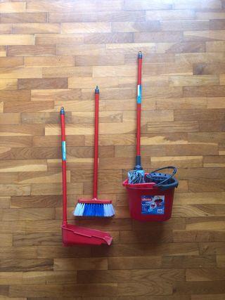 Conjunto set limpieza Vileda