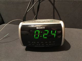 Radio despertador SONY
