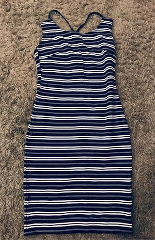 Stripy dress RESERVED