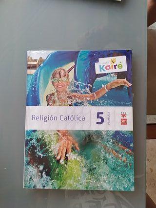 pack libros de religión 5o de primaria