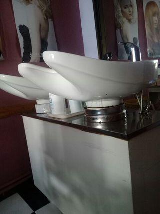 lavabos de peluquería