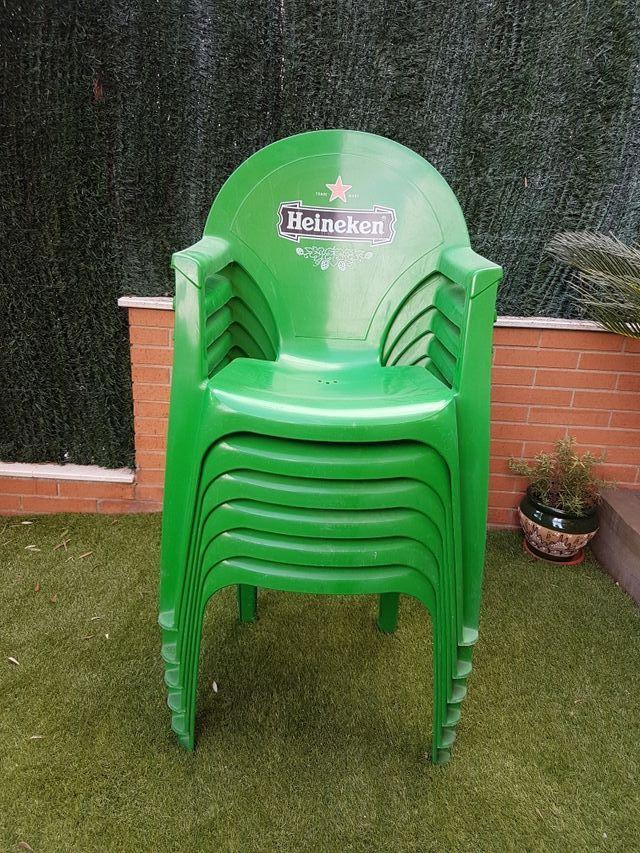Sillas exterior Heineken