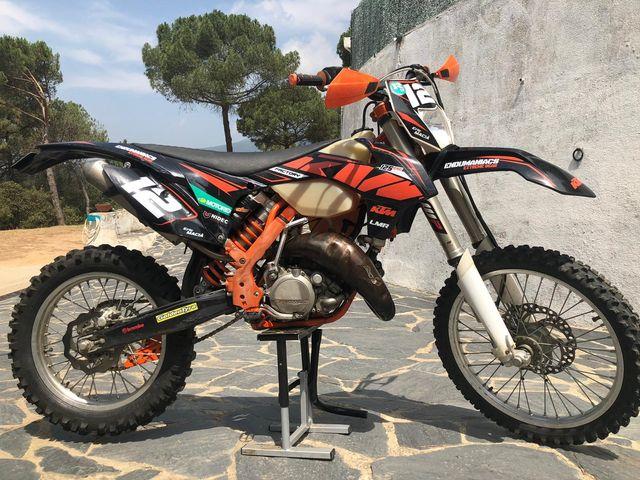 mejor hermosa y encantadora sobornar auténtico KTM 125 EXC SIX DAYS de segunda mano por 4.999 € en Sant ...