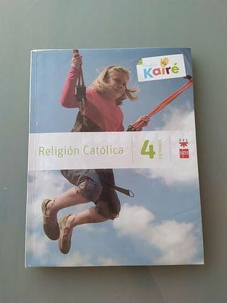 Pack libros de religión de 4o de primaria