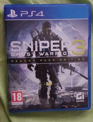 Sniper Ghost Warrior 3 + Season Pass Ps4