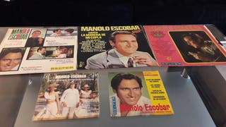 Disco Vinilo manolo escobar