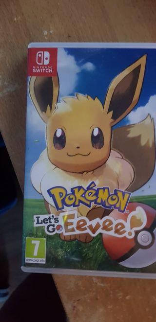 Pokemon Lets Go Eevee Switch