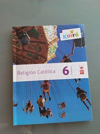 Pack libros de religión 6o de primaria