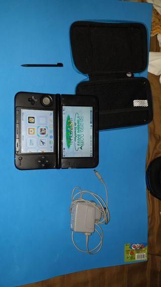 Nintendo 3ds XL Azul + Cargador, Funda + garantia