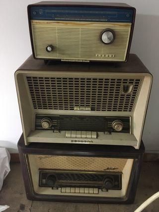Lote 3 radios antiguas