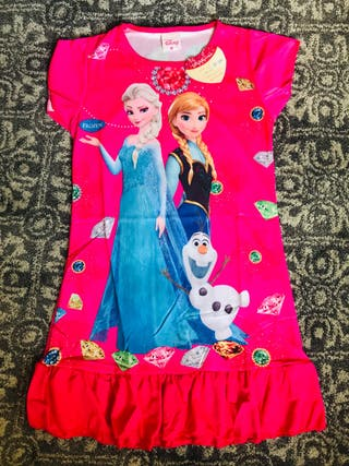 Girls frozen dress
