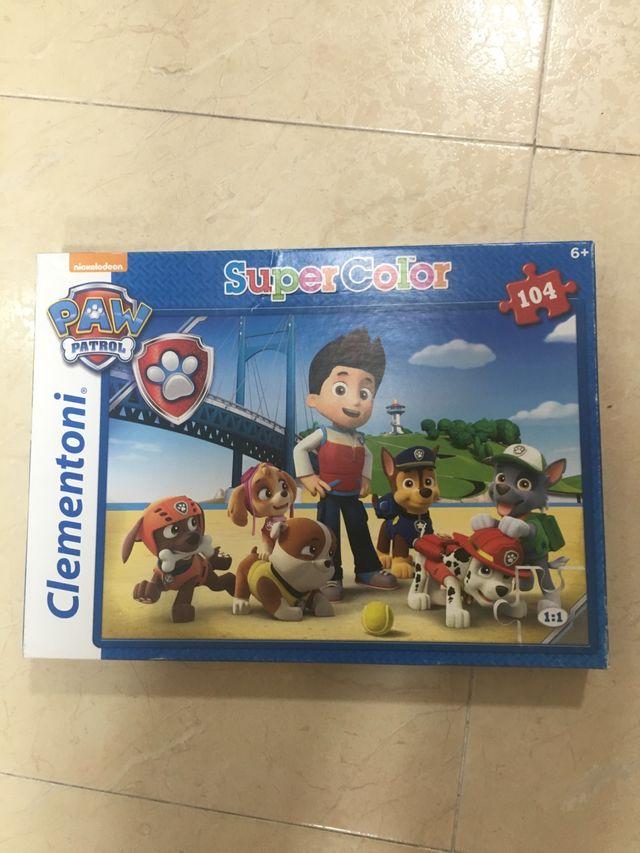 Patrulla canina. Puzzle original 104 piezas
