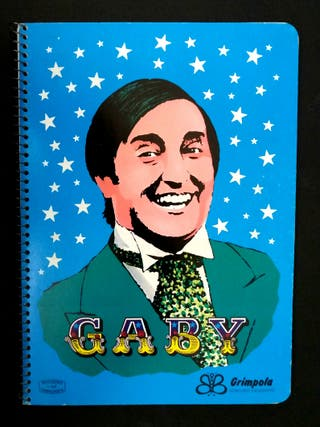 Cuaderno Los payasos de la tele años 70/80