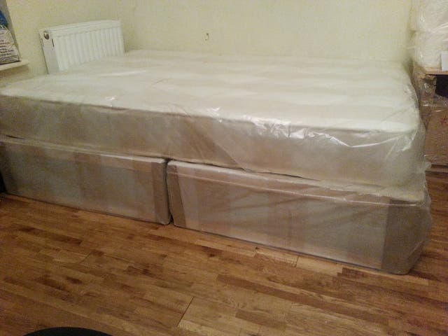 double 4ft6 bed new