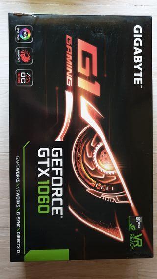 Tarjeta gráfica GIGABYTE 1060 Gaming