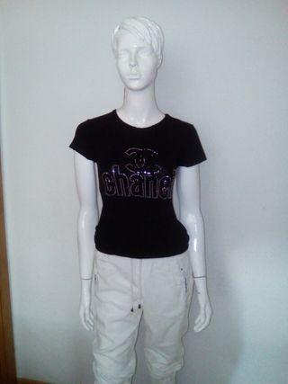 camiseta Chanel ofertas