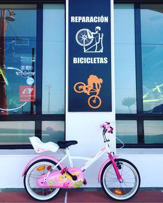 Bici para niña rueda 16 pulgadas
