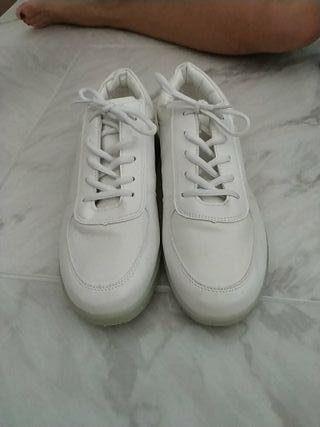 Zapatos con luces