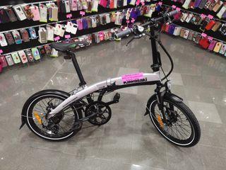 bicicleta eléctrica kawasaki a estrenar