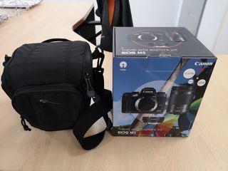 Canon EOS M5 KIT COMPLETO