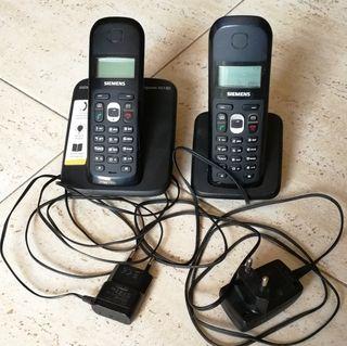 telefonos inalambricos (2 terminales)