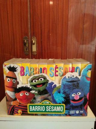 Barrio Sésamo Colección VHS
