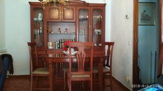 mueble comedor mesa y 6 sillas