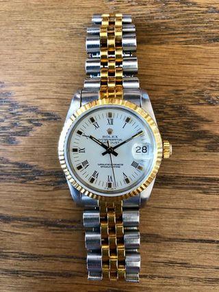 Reloj Rolex Datejust Oro y Acero
