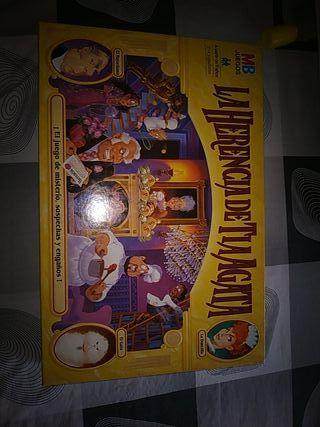 juego de mesa La Herencia de la Tía Agata