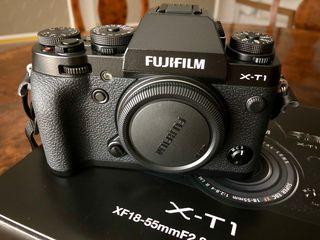Cámara XT1 Fujifilm con objetivo 18-55mm