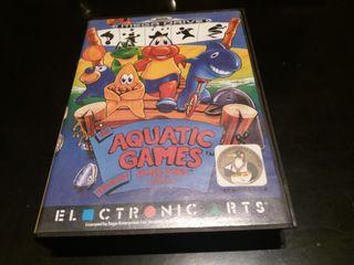 aquatic games sega megadrive