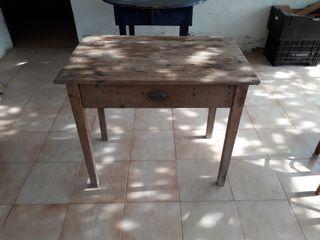 Mesa antigua cocina de segunda mano en WALLAPOP