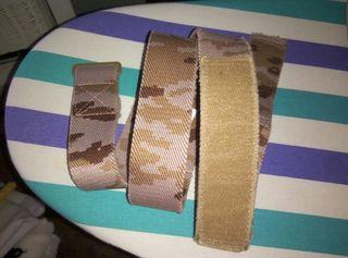 Ceñidor,cinturon elastico mimetizado arido.