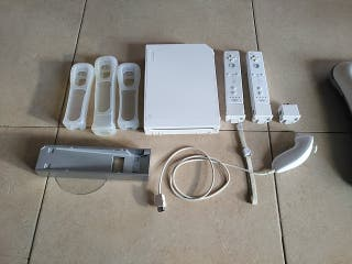 Wii + Wii balance board + videojuegos