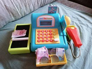 Máquina registradora juguete
