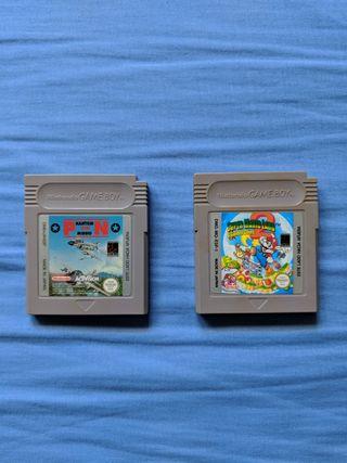 Phantom Air mission y Super Mario Land 2 Game Boy