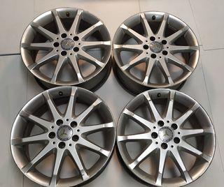 Mercedes 17 pulgadas originales 5x112