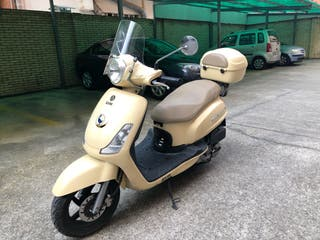 Scooter SYM 125 cc Fiddle II. Estilo retro