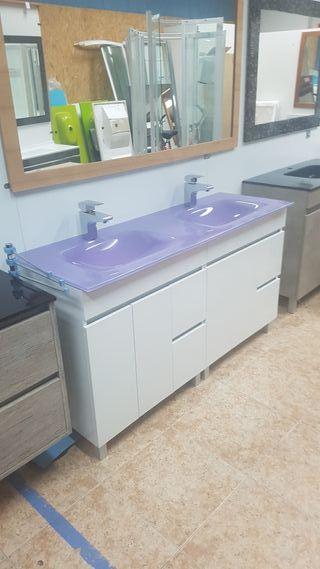 Mueble de baño 140x45 Mod N022