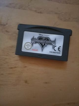 KINGDOM HEARTS CHAINS OF MEMORIES GAMEBOY ADVANCE