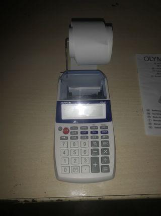 calculadora olympia con impresión