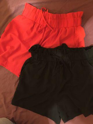 Pantalones cortos anchos