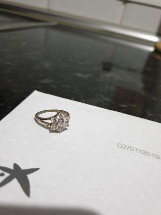 anillo de mujer talla grande