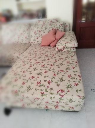 sofá longchaise XXL